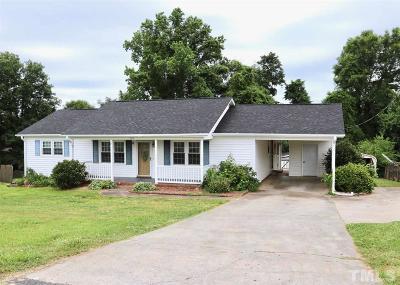 Burlington Single Family Home For Sale: 307 Ivey Road