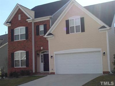 Raleigh Single Family Home For Sale: 6508 Amber Bluffs Crescent