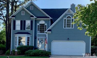 Cary NC Single Family Home Contingent: $374,500