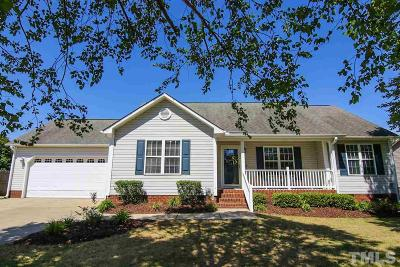 Smithfield Single Family Home Contingent: 371 Pedernales Drive