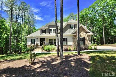 Wake Forest Single Family Home For Sale: 1191 Rogers Farm Road