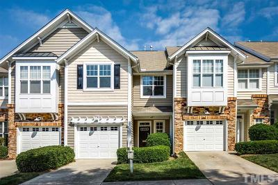 Wake County Townhouse For Sale: 5026 Amber Clay Lane