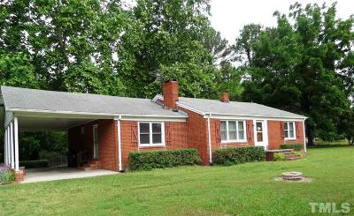 Apex Single Family Home For Sale: 1221 Davis Drive