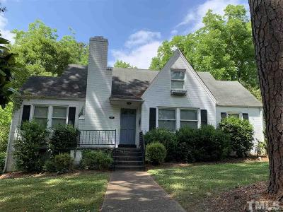 Raleigh Rental For Rent: 2810 Oberry Street