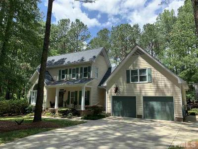 Clayton Single Family Home For Sale: 3301 Wisteria Drive
