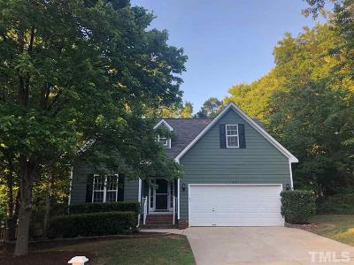 Holly Springs Single Family Home For Sale: 117 Harvester Drive