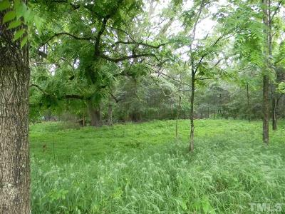 Chatham County Residential Lots & Land For Sale: 1963 Buckner Clark Road