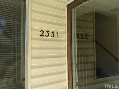 Raleigh Rental For Rent: 2351 Champion Court