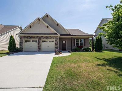 Zebulon Single Family Home Contingent: 2505 Cattail Pond Drive