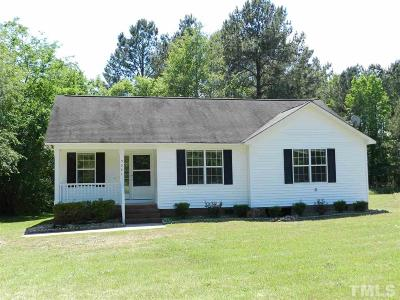 Johnston County Single Family Home For Sale: 5341 Cleveland Road
