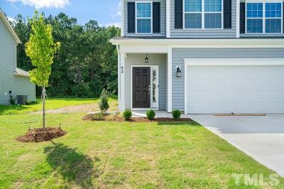 Clayton NC Single Family Home Pending: $226,600