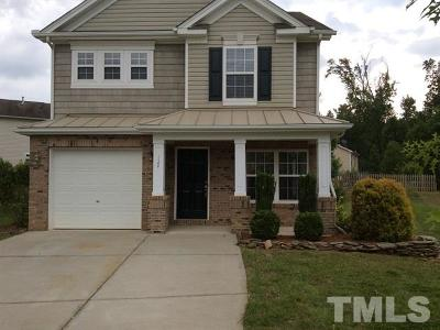 Holly Springs Rental For Rent: 124 Trayesan Drive