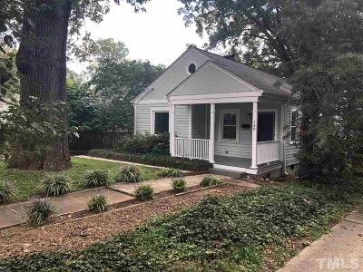Raleigh Single Family Home For Sale: 120 Georgetown Road