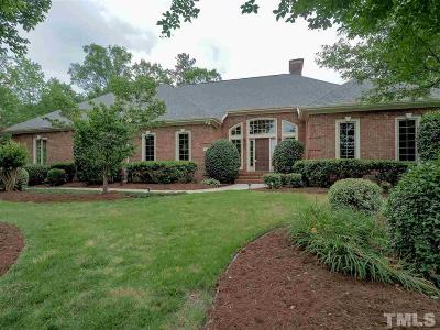 Cary NC Single Family Home For Sale: $1,099,999