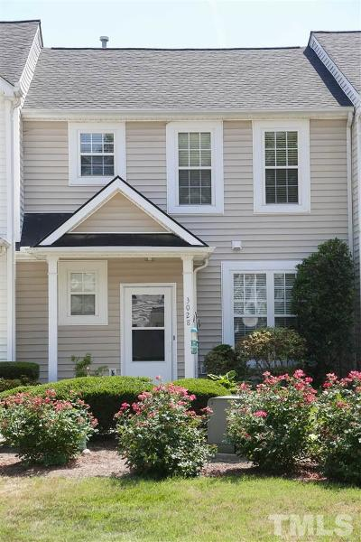 Apex NC Townhouse For Sale: $214,900