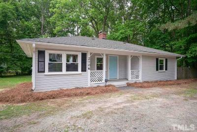 Durham NC Single Family Home For Sale: $169,900