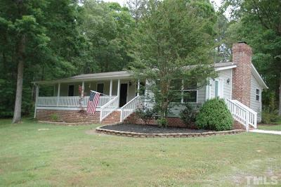 New Hill NC Single Family Home For Sale: $290,000