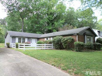 Raleigh Single Family Home For Sale: 7905 Haymarket Lane