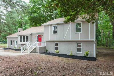 Raleigh Single Family Home For Sale: 3213 Barwell Road