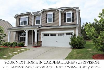 Durham Single Family Home For Sale: 103 Red Bird Drive