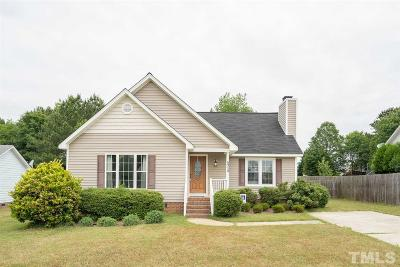 Knightdale Single Family Home Contingent: 5313 Cottage Bluff Lane