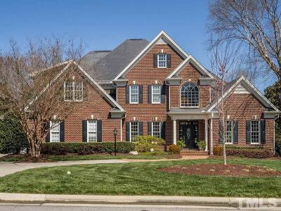 Cary NC Single Family Home For Sale: $835,000