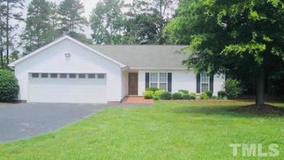 Sanford Single Family Home For Sale: 3186 Henley Road