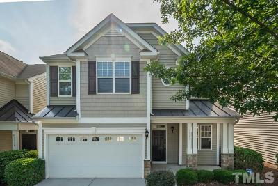 Raleigh Townhouse For Sale: 7715 Cape Charles Drive