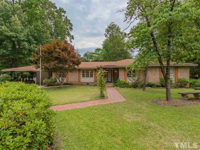 Smithfield Single Family Home Contingent: 703 S Crescent Drive