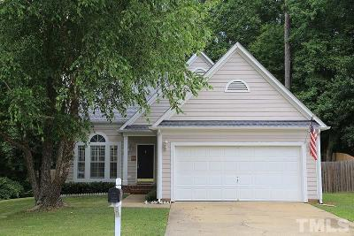 Holly Springs Single Family Home Pending: 1016 Silverstone Way