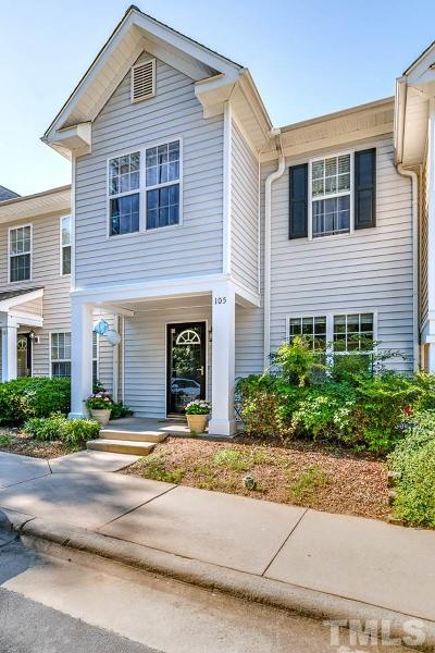 Apex Townhouse Contingent: 105 Harbor Haven Drive