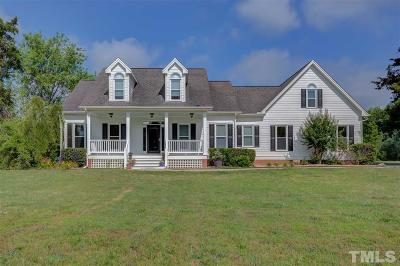 Wake Forest NC Single Family Home For Sale: $650,000