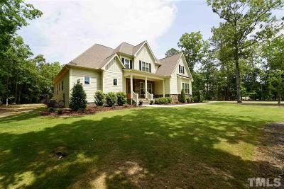 Wake Forest Single Family Home For Sale: 5712 Barham Crossing Drive