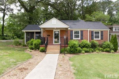 Raleigh Single Family Home For Sale: 403 N King Charles Road