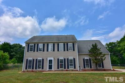 Rougemont Single Family Home Contingent: 145 Deep Creek Point