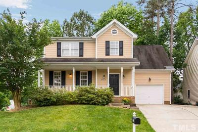 Raleigh Single Family Home For Sale: 3112 Jekyl Circle
