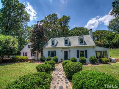 Orange County Single Family Home For Sale: 104 Laurel Hill Road