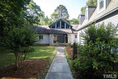 Single Family Home For Sale: 6525 Whitted Road