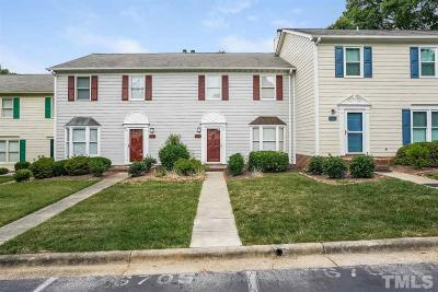 Raleigh Townhouse For Sale: 6707 Tattershale Court