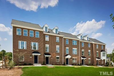 Durham Townhouse For Sale: 806 Watercolor Way