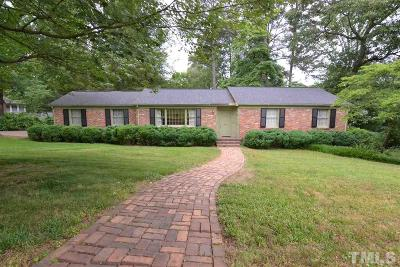 North Hills Single Family Home For Sale: 4409 Yadkin Drive
