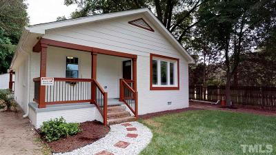 Durham Single Family Home For Sale: 2503 S Alston Avenue