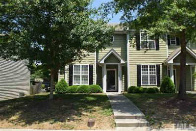 Raleigh Townhouse For Sale: 4423 Log Cabin Drive