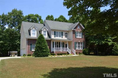 Youngsville Single Family Home For Sale: 330 Longwood Drive