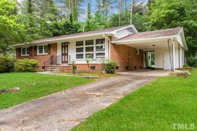 Durham Single Family Home For Sale: 4803 Brentwood Road
