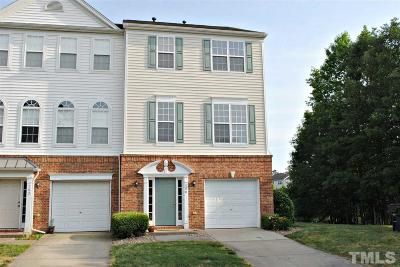 Morrisville Townhouse For Sale: 100 Chandler Chase Court