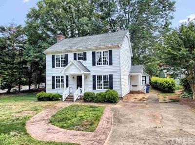 Raleigh Single Family Home Contingent: 4201 Tolchester Place