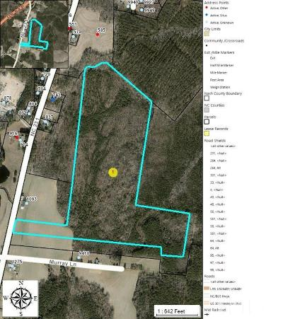 Spring Hope Residential Lots & Land For Sale: Nc 231 Highway