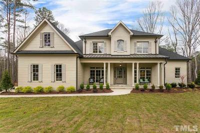 Raleigh Single Family Home For Sale: 7209 Summer Tanager Trail