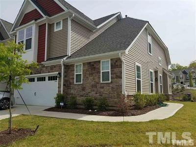 Cary Townhouse For Sale: 402 Talons Rest Way
